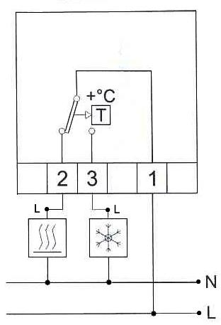 Схема подключения терморегулятора Orbis Clima ML