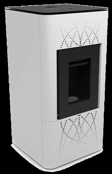 Автоматический котёл - камин BIODOM-H25