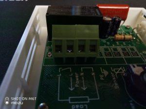 Клеммная колодка для подключения терморегулятора ГрейКа V-01