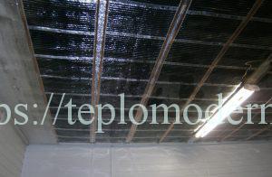 Отопление греющим потолком инфракрасной плёнкой ТМ-150