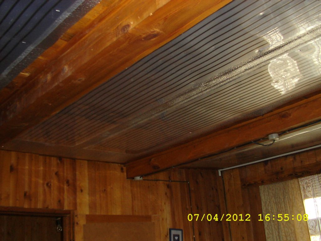Отопление ИК ПлЭН, д. Малые Брусяны. Частный дом 50 кв.м.