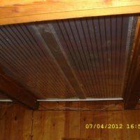 Отопление на потолочных ПлЭН в д. Малые Брусяны. Частный дом 50 кв.м.