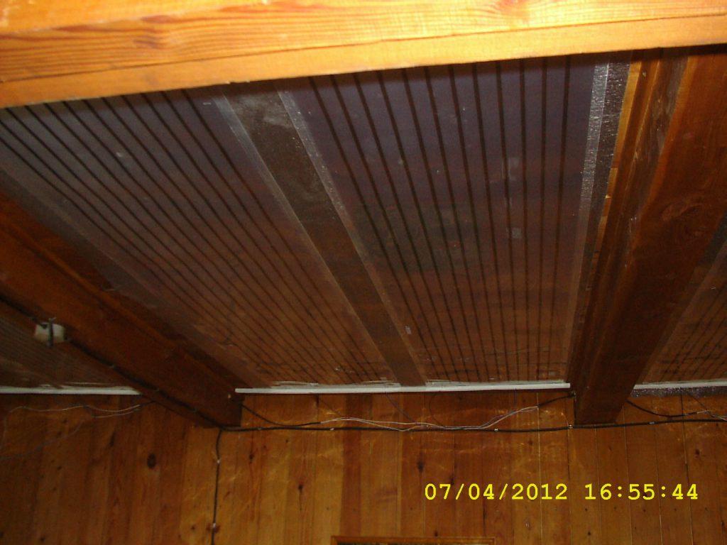 Отопление на ПлЭН, д. Малые Брусяны. Частный дом 50 кв.м.
