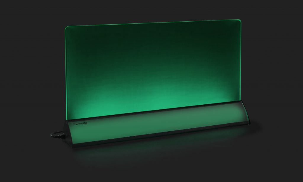 ThermoUp Floor Led зелёная подсветка