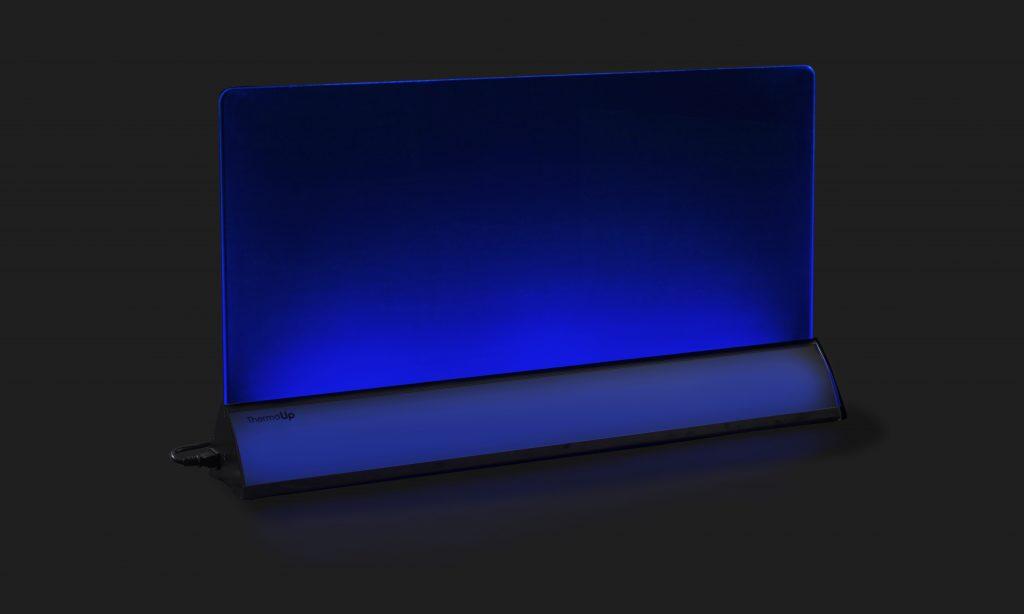 ThermoUp Floor Led синяя подсветка