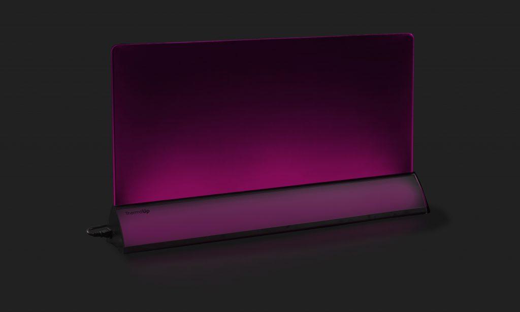 ThermoUp Floor Led фиолетовая подсветка