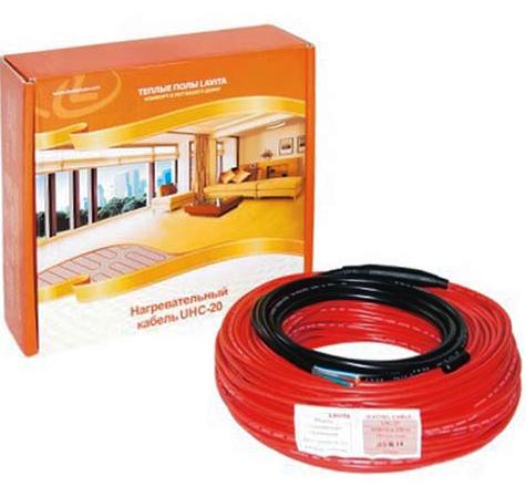 Греющий кабель UHC-20 для тёплого пола
