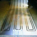 Потолочный инфракрасный плёночный электронагреватель
