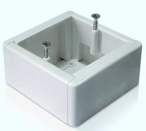 Установочная коробка 86*86 мм